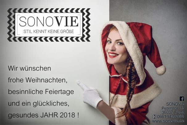 Frohe Weihnachten & ein fantastisches Jahr 2018