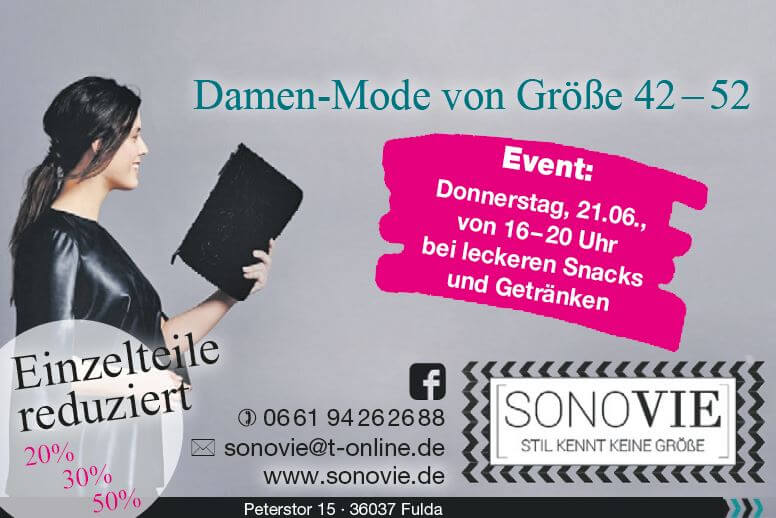 SONOVIE-EVENT am 21.06.