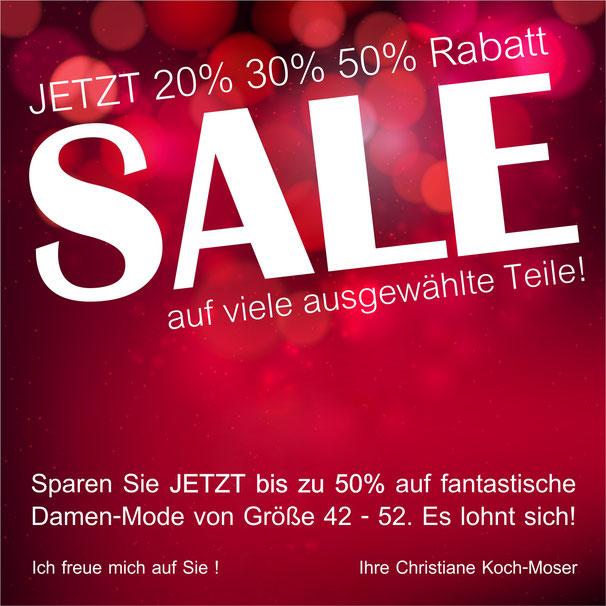 Winter-Sale - jetzt kräftig sparen!