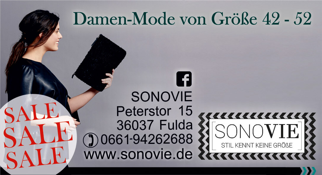 SALE bei SONOVIE