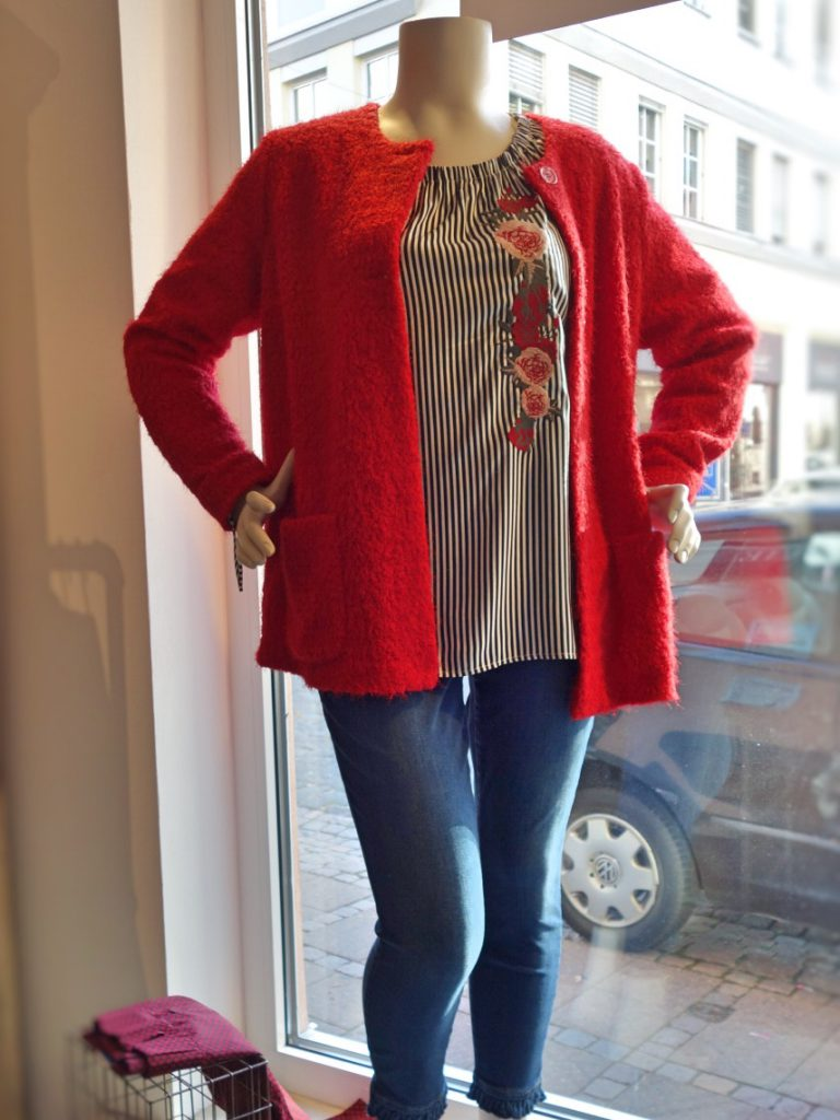 Unser Look der Woche - Rot - rot - kuschelig