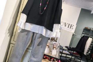 Unser Look der Woche – Die Bluse machts!!! Klasse Outfit für jeden Tag