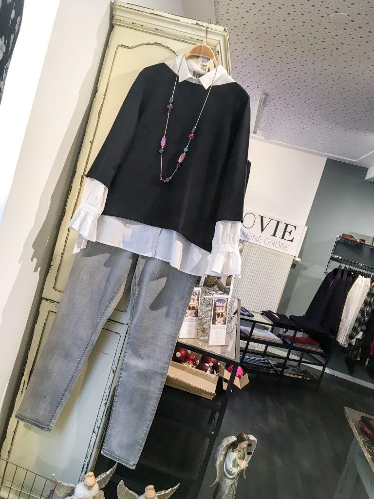 Unser Look der Woche - Die Bluse machts!!! Klasse Outfit für jeden Tag