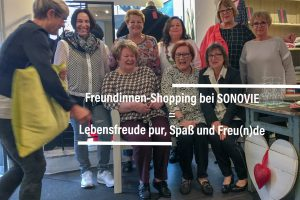 WE LOVE: Freundinnen-Shopping bei Sonovie