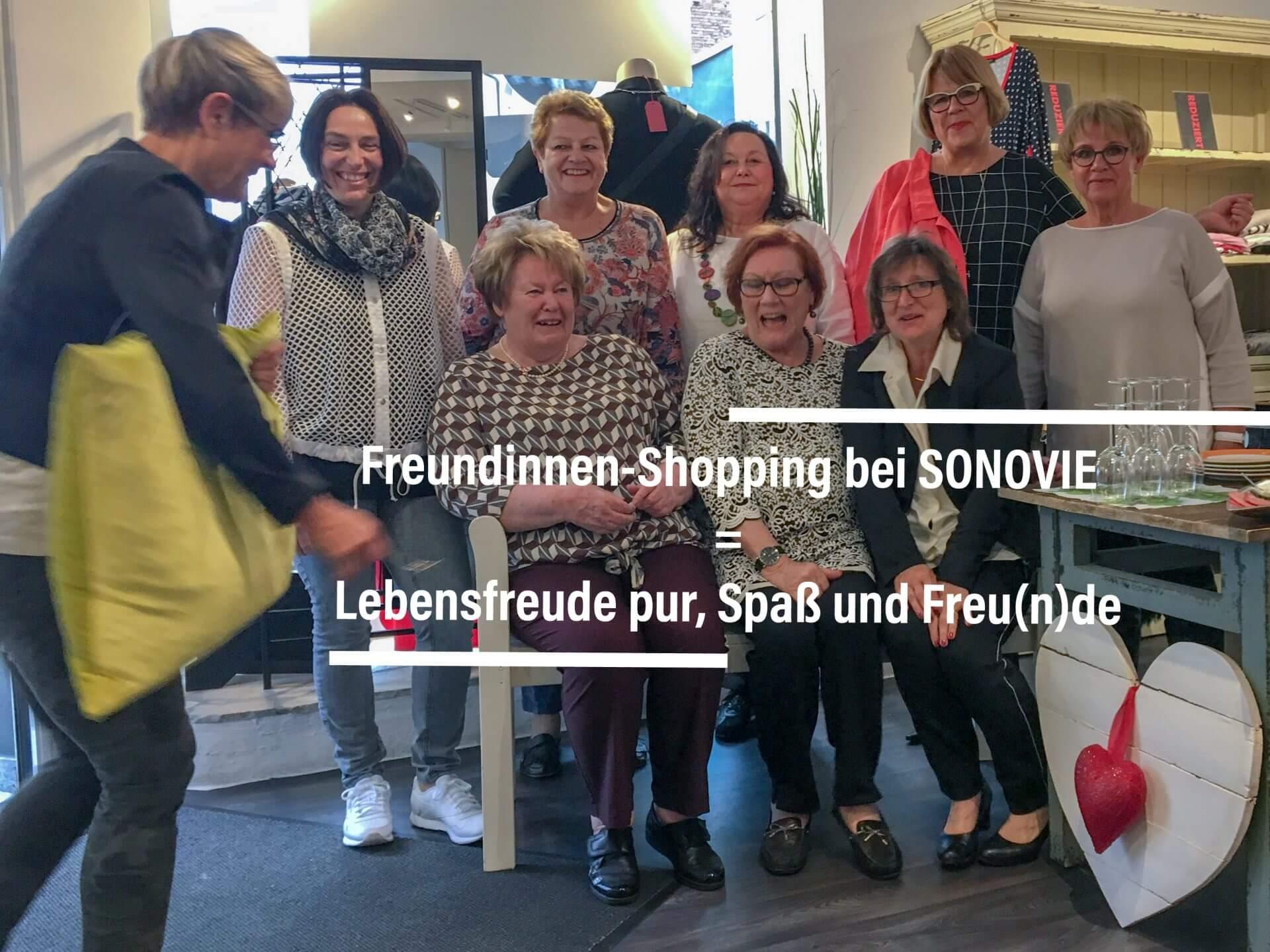 Freundinnen-Shopping